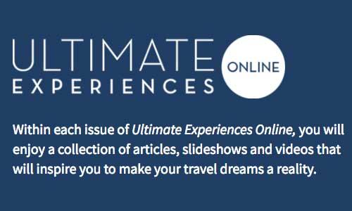 Ultimate Experiences Magazine